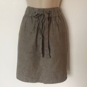 Eileen Fisher mini skirt